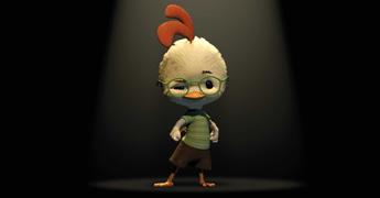 Lilla kycklingen