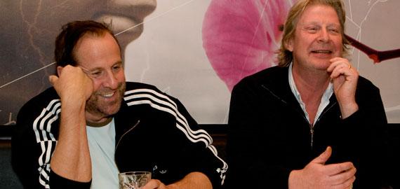 Peter Stormare och Rolf Lassgård