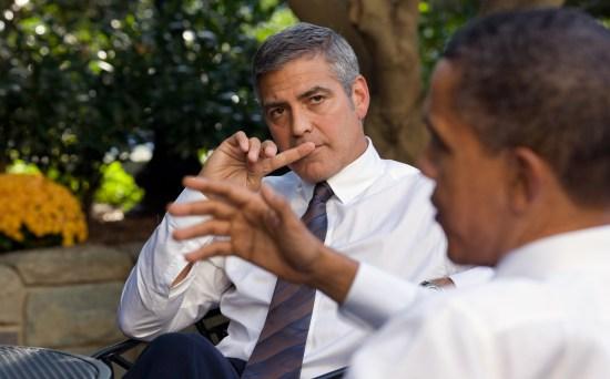 George Clooney, Barack Obama