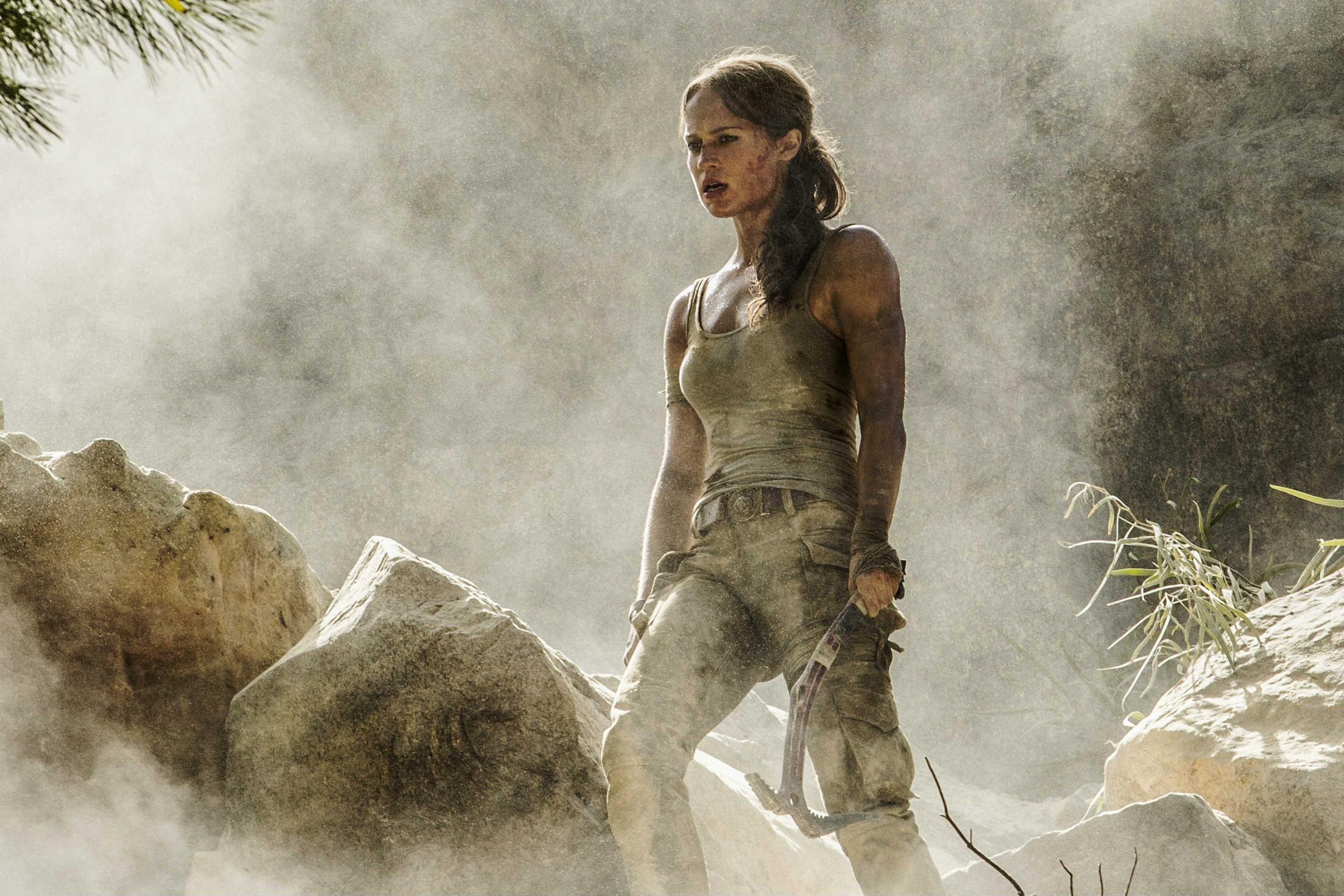 Alicia Vikander i Tomb Raider
