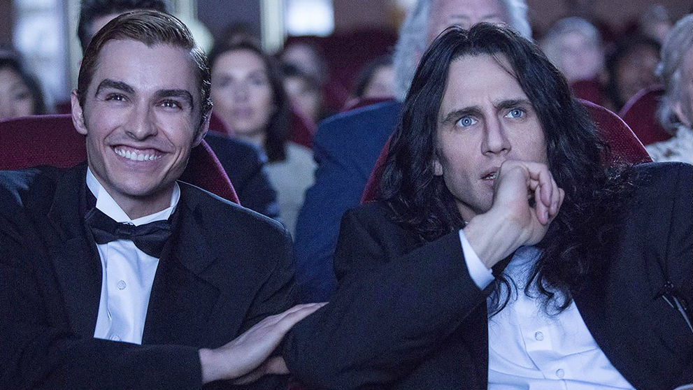 James Franco och Dave Franco i filmen The Disaster Artist.