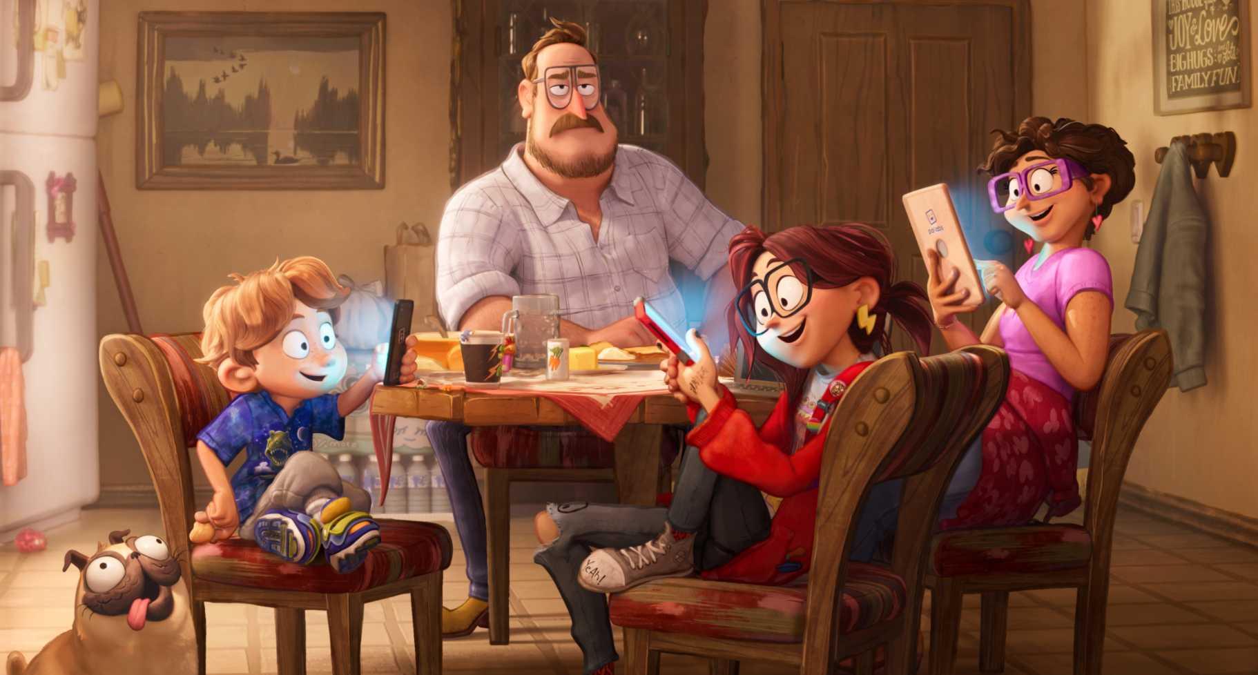 Uppkopplad familj
