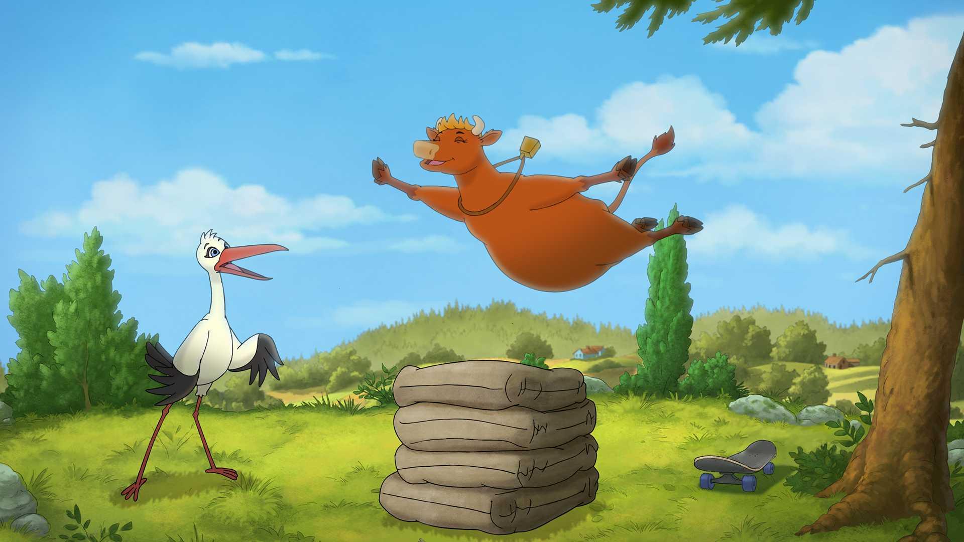 Mamma Mu och storken